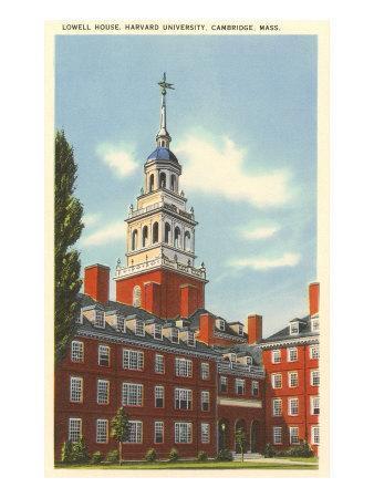 Lowell House, Harvard University, Cambridge, Mass.