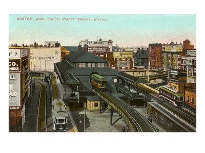 Dudley Street Terminal, Boston, Mass.