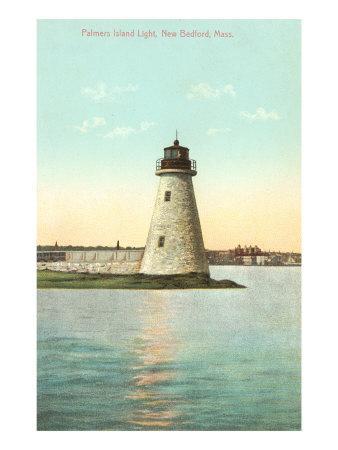 Palmer's Island Lighthouse, New Bedford, Mass.