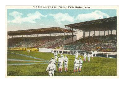 Red Sox, Fenway Park, Boston, Mass.