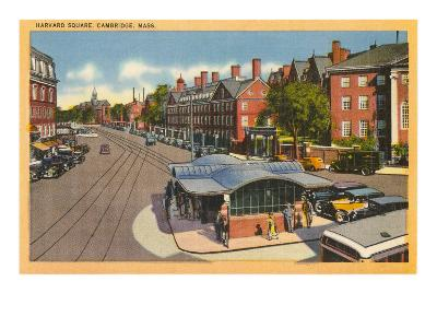 Harvard Square, Cambridge, Mass.