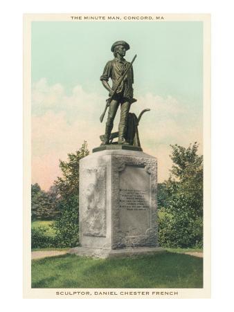 Minuteman Statue, Concord, Massachusetts