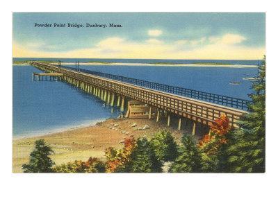 Powder Point Bridge, Duxbury, Mass.