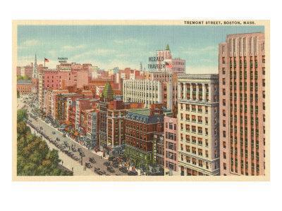 Tremont Street, Boston, Massachusetts