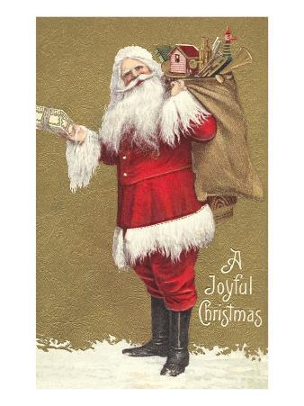 Old-Fashioned Santa Claus