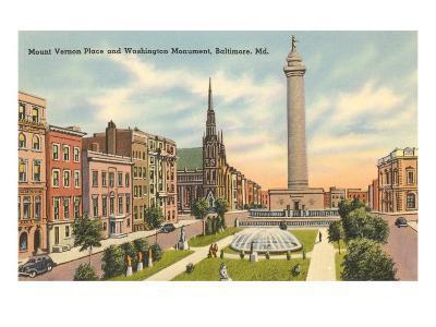 Washington Monument, Baltimore, Maryland