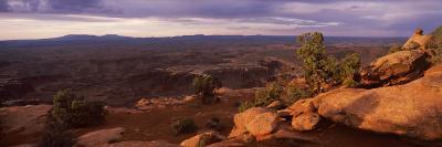 Clouds over an Arid Landscape, Canyonlands National Park, San Juan County, Utah, USA