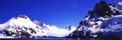 Snow Covered Mountains, Penguin Island, Antarctic Peninsula, Antarctica