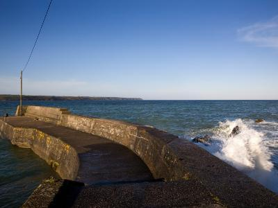Fishing Harbour Pier, Ardmore, Co Waterford, Ireland