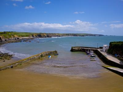 Boatstrand Harbour, the Copper Coast, County Waterford, Ireland