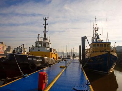 Tugboats at Moorings, Waterford City, County Waterford, Ireland