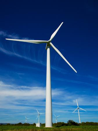 Windfarm, Bridgetown, County Wexford, Ireland