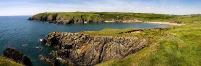 Kilmurrin Cove in the Copper Coast Geopark, Near Boatstrand, County Waterford, Ireland