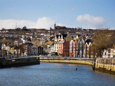 Kneeling Canoe, River Lee, Cork City, Ireland
