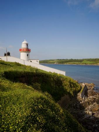 """Youghal Lighthouse, Featured in John Huston's 1954 Film """"Moby Dick"""", County Cork, Ireland"""