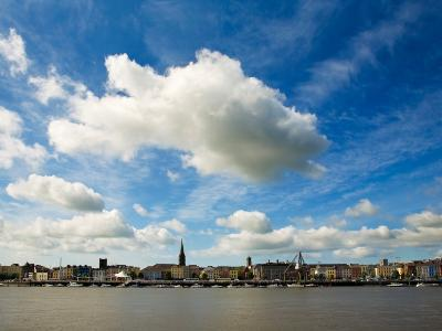 Waterford City Skyline from the North Bank of the River Suir, County Waterford, Ireland