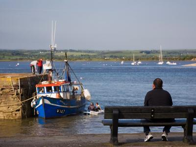 Youghal Fishing Harbour, Youghal, County Cork, Ireland
