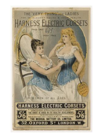 Advertisement for Harness's Electric Corset