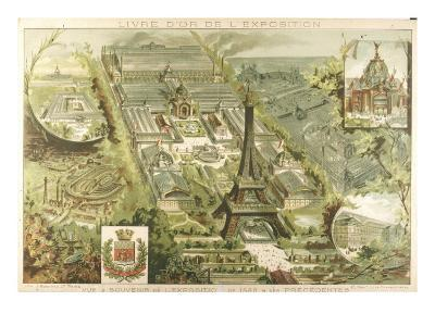 A View of Paris at the Time of the Universal Exhibition