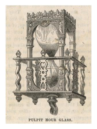 A 'Pulpit' Hourglass
