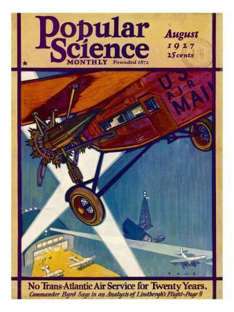 American Mail Plane 1927