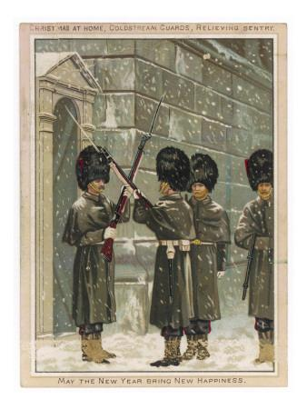 A Sentry Being Relieved (Coldstream Guards)