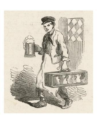 A Pot-Boy, Employed by a Pub to Deliver Pint and Quart Jugs of Beer to Nearby Homes