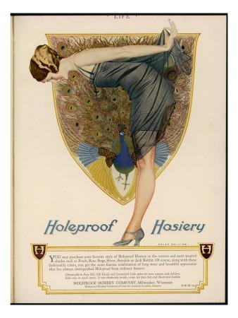 Advertisement for Holeproof Hosiery