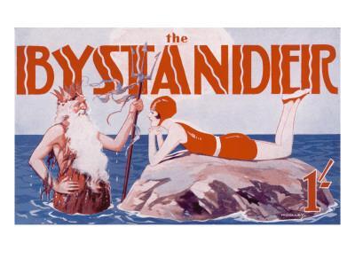 Bystander Masthead by Harry Woolley, 1930