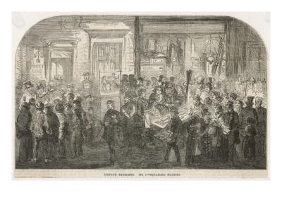 Brick Lane Market 1861