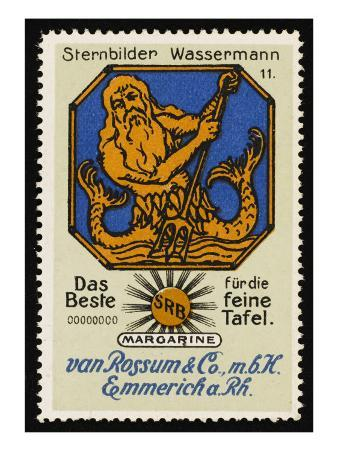 Aquarius the Water-Carrier 20 January - 18 February