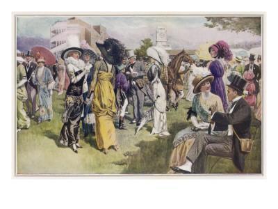 Ascot Fashions 1914