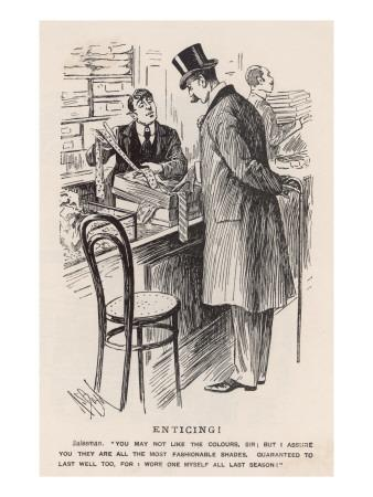 Buying a Tie 1898