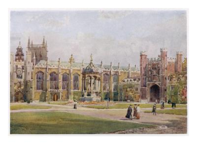 Cambridge: Trinity College the Great Court