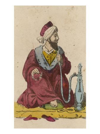 Arab and Hookah