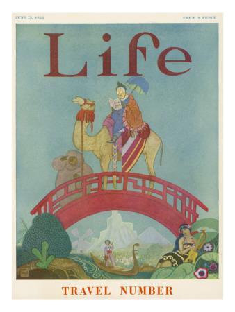 Camel Travel 1924