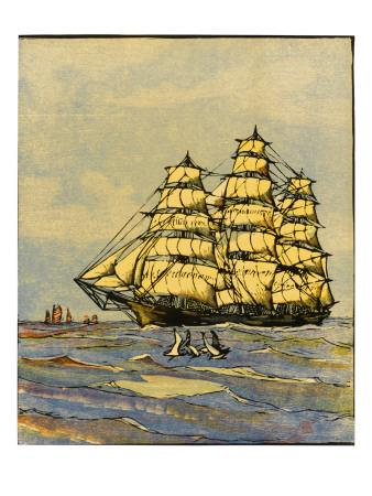 California Clipper Ship