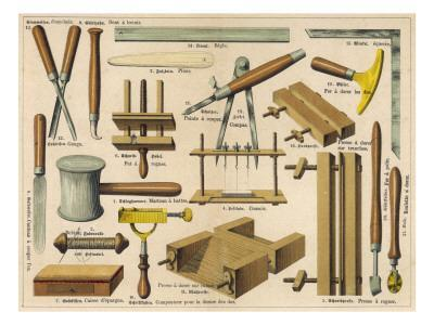Bookbinding Tools 1875