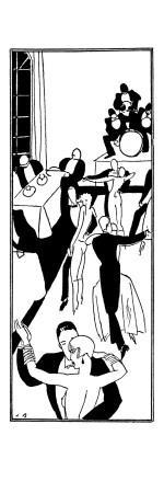 Dancing to a Jazz Band in a French Night Club