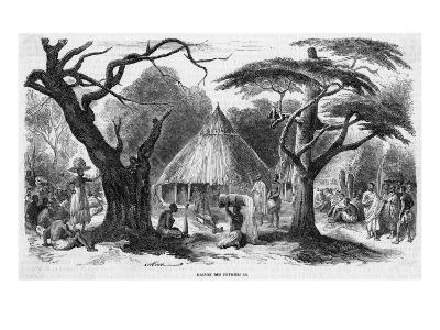 Dahomey Fetish House