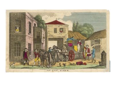Coaching Inn Yard/1812