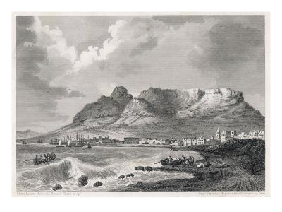Cape Town, South Africa: the Harbour and Table Mountain