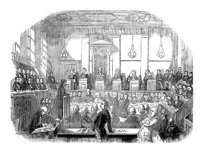 Court Room Scene, Mr M Naughten Trial