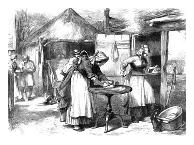 Cottage Life in Warwickshire: Baking Day