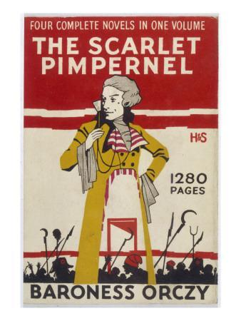 Cover of Baroness Orczy's 'scarlet Pimpernel'