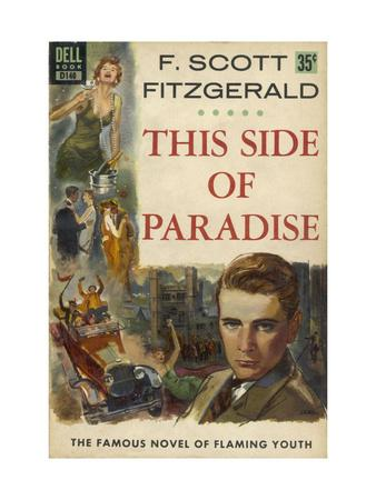Cover of a Paperback Reprint of 'the Famous Novel of Flaming Youth'