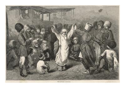 Circassians Dancing
