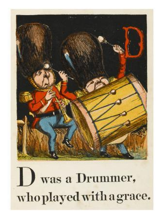 D Was a Drummer Who Played with a Grace