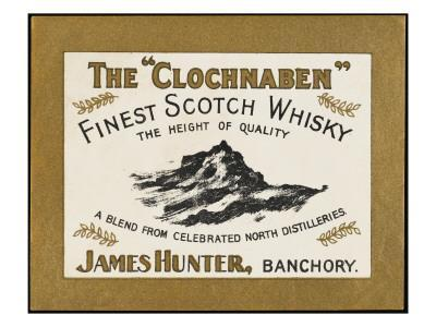Clochnaben Whiskey, Produced by James Hunter of Banchory, Scotland