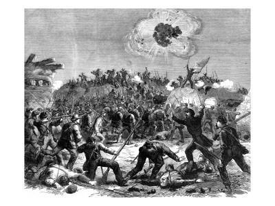 Civil War in America: Assault on Fort Wagner